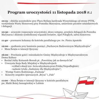 100-lecie Niepodległości Polski w Międzyzdrojach