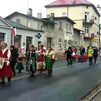 W Wolinie upamiętniono 100 - lecie niepodległości Polski