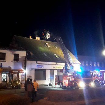 Pożar na ulicy Zwycięstwa w Golczewie!