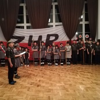 ZHR - 72. rocznica powstania harcerstwa w SP 1