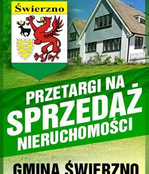Ogłoszenie o przetargu w gminie Świerzno
