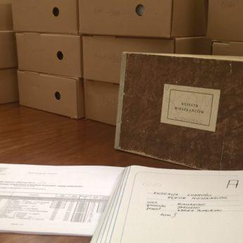 Archiwum w Międzyzdrojach wzbogaciło się o 79 ksiąg meldunkowych z Gminy Kamień Pomorski