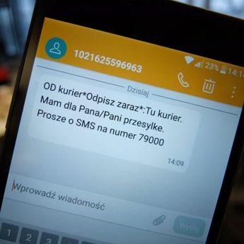 Uważajcie na fałszywe sms-y z aplikacją lub dopłatą!