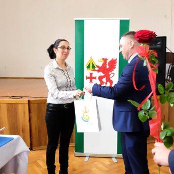 Burmistrz Golczewa powitał nowo wybranych sołtysów