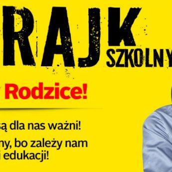 87% szkół w województwie będzie strajkować