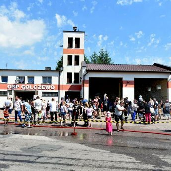 Strażacy z Golczewa zapraszają na Dzień Dziecka. Pomóż zbierać środki na leczenie jednego ze strażaków!