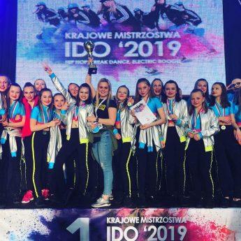 Grupa taneczna Keep Smile najlepsza podczas Mistrzostwo Polski IDO