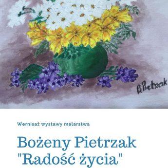 Wystawa malarstwa Bożeny Pietrzak