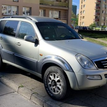 Sprzedam Sang Yong 2.9 diesel 2004 rok