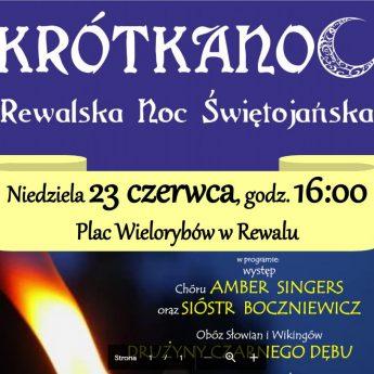 """""""Krótkanoc. Rewalska Noc Świętojańska"""""""