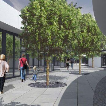 Nowe Centrum szuka najemcy lokali w nowym pawilonie handlowym