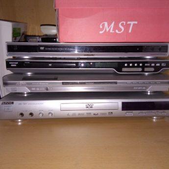 Sprzedam 3 dvd i 1 kino domowe z 5 głośnikami