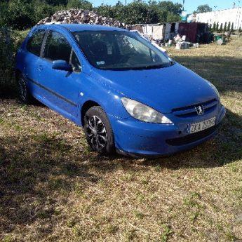 Sprzedam Peugeot 307 uszkodzony