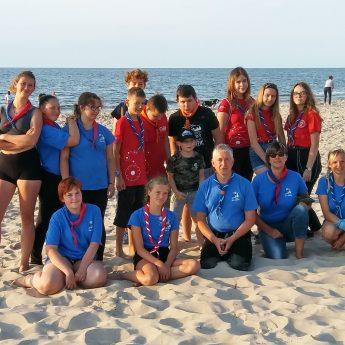 Polsko - Niemieckie spotkanie harcerzy i skautów w Międzyzdrojach