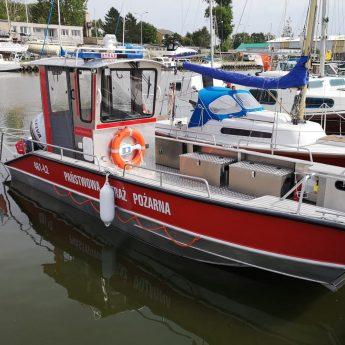Kamieńscy strażacy mają nową łódź