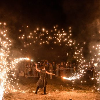 Pokaz ognia i moc koncertów! Jarmark Wikinga w Wolinie pełen atrakcji [Zdjęcia]