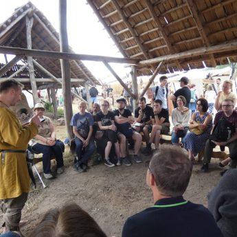 Strefa Czytania u Słowian i Wikingów w Wolinie