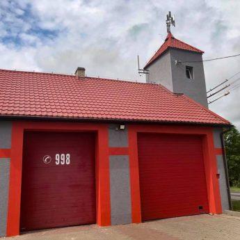 Strażacy ochotnicy ze Świerzna odnowili remizę