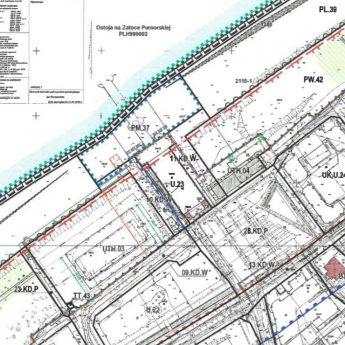 Wyłożenie planu dla centrum promenady