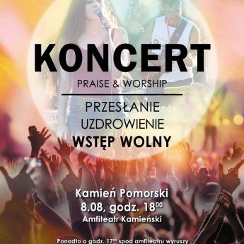 """""""Praise & Worship"""" - przyjdź na koncert w Kamieniu Pomorskim"""