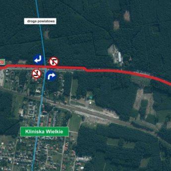 Uwaga na utrudnienia na przebudowywanym odcinku S3 Goleniów-Rzęśnica