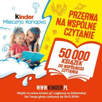 """""""Przerwa na wspólne czytanie"""" – głosuj na Bibliotekę w Międzyzdrojach"""