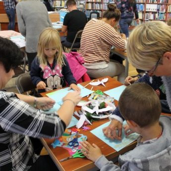 Książkowe inspiracje - warsztaty w międzyzdrojskiej Bibliotece