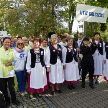 Słuchacze UTW z Golczewa na VII Kołobrzeskich Dniach Seniora – Senioraliach