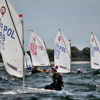 269 zawodników rywalizowało w Mistrzostwach Polskiego Stowarzyszenia w klasie Optimist