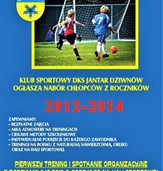 Zostań piłkarzem klubu z Dziwnowa