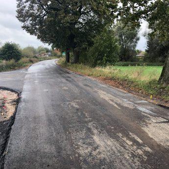 Mieszkańcy Rybic doczekali się nowej asfaltowej drogi