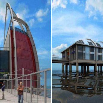 Piotr Droński zapowiada budowę pasażu handlowego i hotelu na końcu międzyzdrojskiego mola!
