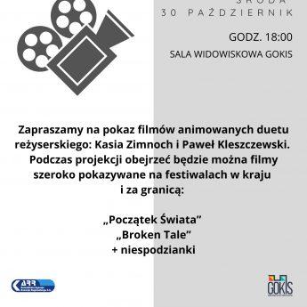 Wieczór Polskiej Animacji w GOKiS
