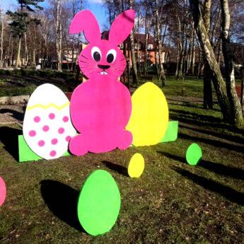 """Wielkanocny akcent w Międzywodziu. """"Oby stały się promyczkiem nadziei w tych nietypowych czasach"""""""