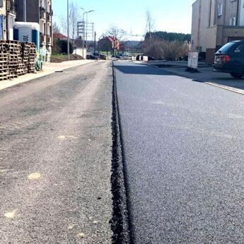 Na modernizowanych ulicach Golczewa pojawił się asfalt!