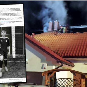 10-letni Bartek zginął w pożarze. W internecie ruszyła zbiórka dla rodziny