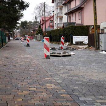 Międzywodzie z kolejną remontowaną ulicą