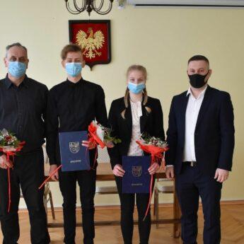 Burmistrz wyróżnił golczewskich sportowców