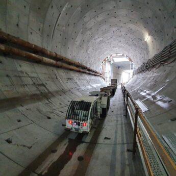 Wydrążono już ponad 130 metrów tunelu!