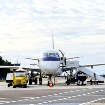 Szybki test na COVID - 19 od piątku na lotnisku w Goleniowie