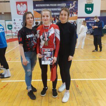 Natalia Jaworska na piątym miejscu w Mistrzostwach Polski Młodzieżowców i Juniorek