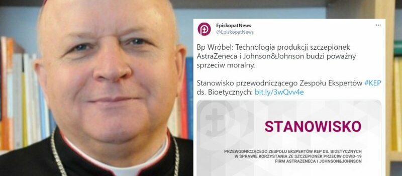 Episkopat: Technologia produkcji szczepionek AstraZeneca i Johnson&Johnson budzi sprzeciw
