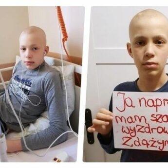 Pomóżmy Wiktorowi Lewickiemu w walce z rakiem mózgu!