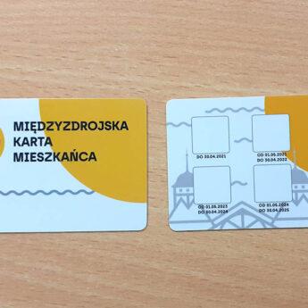 Pierwsze międzyzdrojskie karty wydane