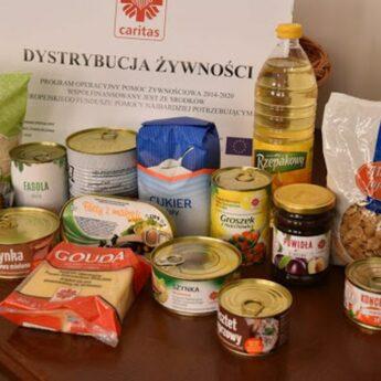 Blisko 500 osób otrzymało już wsparcie żywnościowe w Gminie Wolin