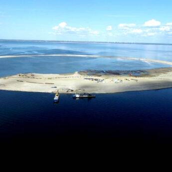 Na Zalewie Szczecińskim powstały sztuczne wyspy!
