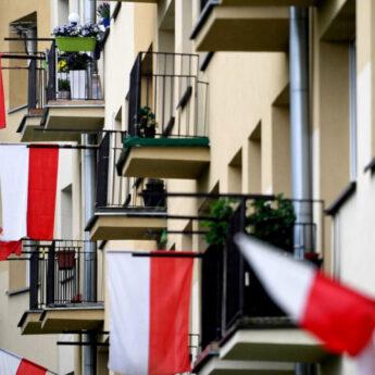 Konkurs rozstrzygnięty. W Sołectwie Łukęcin wywieszono najwięcej flag