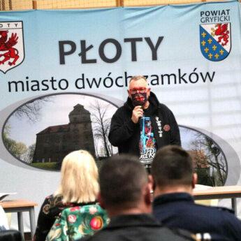 Jurek Owsiak spotkał się z przedstawicielami służb w Płotach