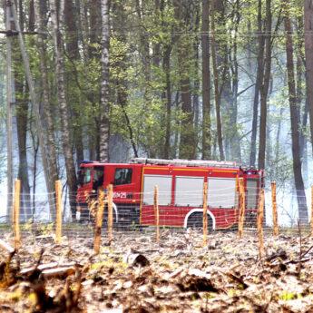 Powiat Kamieński w strefie dużego zagrożenia pożarowego