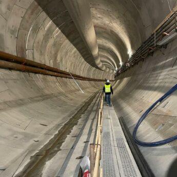 Jest już 419 metrów tunelu w Świnoujściu. [ZDJĘCIA, FILM]